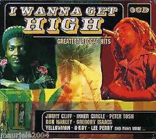 I Wanna Get High. Greatest Reggae Hits (2003) BOX 3 CD NEW Bob Marley Peter Tosh