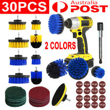 30x Drill Brush Tub Clean Electric Grout Power Scrubber Cleaning Combo Tool Kit
