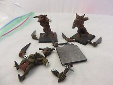 Warhammer GW Beastmen Minotaur (3) oop Metal painted