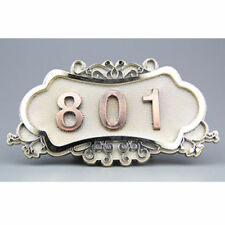 Unbranded Numbers Antique Style Decorative Plaques & Signs
