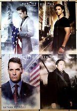 2)Lot de 4 Posters HEROES de 41 x 57 cm par poster