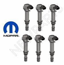 For Dodge Durango Jeep Set of 6 Ignition Coils 3.7 V6 Engines Mopar Factory OEM