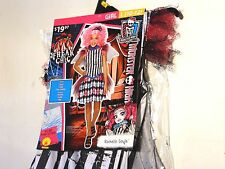 Child Girls MONSTER HIGH ROCHELLE GOYLE Large 10-12 Halloween Costume Dress Up