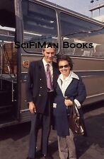 Vintage 35mm Slide Pretty Sexy Woman Handsome Man Old Bus Driver Fashion 1975!!!