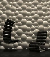 *BUBBLES* 3D Decorative Wall Stone Panels.ABS Form Plastic mold for Plaster