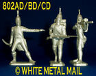 Napoleonic Con 802AD/BD/CD Set 1:32 Nap. Officer; Infantry Advancing; Firing