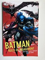 Batman: Rules of Engagement - DC Comics Trade Paperback Graphic Novel OOP TPB