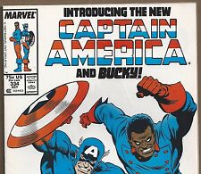 Captain America #334 The New Bucky from Sept. 1987 in Fine+ con. Avengers Movie