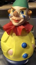 "Rolly-Toys CLOWN Western Germany Approx 15"" tall Rare Vintage"