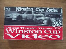 NASCARS winston cup series vhs thunder theater 8 MIN. NO BULL GREAT RACING ACTIO