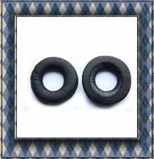 Leather Ear Cushion 70 mm Pads for Sony V150 V300 High Quality Black *NEW
