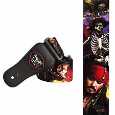 Jack Sparrow Pirate of the Caribbean Acoustic Electric Bass Guitar Strap Depp