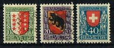 Schweiz 1921 Michel 172 - 174 Pro Juventute gestempelt