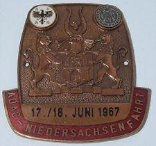 ¨ °º©©º°¨ ADAC Badge Plakette Niedersachsen Fahrt 1967 ¨ °º©©º°¨