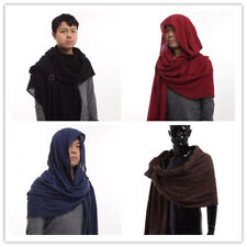 Post Apocalyptic Ranger Shawl Shoulder Cowl Cotton Wrap Cloak 4 Colors Unisex