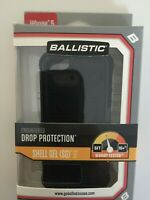 Ballistic Shell Gel (SG) Series Case for iPhone SE, iPhone 5, iPhone5S Black NEW