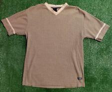 VTG Tommy Jeans Mens Sz Large Cotton Short Sleeve Green Shirt