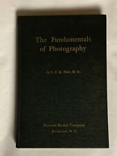 The Fundamentals of Photography, by C.E.K. Mees, 1935,  Kodak Book