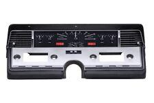 Dakota Digital 66-69 Lincoln Continental Analog Gauges Kit Black Red VHX-66L-K-R