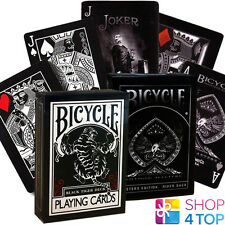 2 DECKS BICYCLE ELLUSIONIST 1 SHADOW MASTERS AND 1 BLACK TIGER PLAYING CARDS NEW