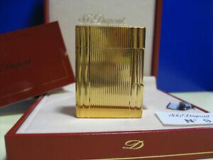 Dupont Feuerzeug Gold Linie 1, mit Box, GARANTIE bis 2023, TOP !!