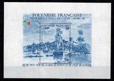 Timbres de France bloc feuillet N° 11 de Polynésie  neufs **
