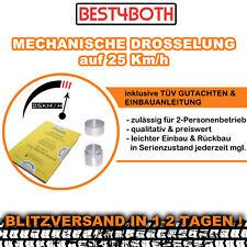 MOFADROSSEL 25 km/h Baotian BT 49 QT-9 BT50 QT-9 mechanisch Drosselsatz Roller