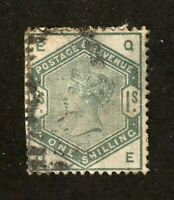 Great Britain stamp #107, used, 1883-84, Queen Victoria, wmk. 30,  SCV $300