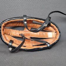 Velodrome Style Bicycle Racing Helmet Black Size 5 Track Bike Headgear Vintage