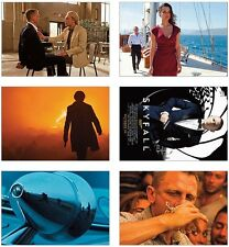 Skyfall James Bond 007 POSTCARD Set