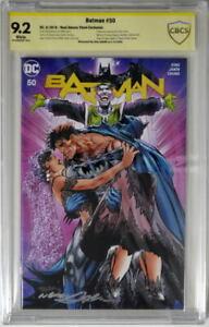 BATMAN 50 CBCS 9.2 Joker Neal Adams Store Exclusive SIGNED by NEAL ADAMS