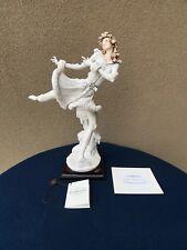 """Giuseppe Armani Florence Sculpture D'Arte 1741F , """"Winter Spirit"""" Signed"""