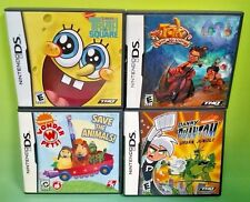 Nickelodeon Wonder Pets Tak Spongebob Dan Phantom Games Nintendo DS Lite 3DS 2DS