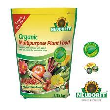 Neudorff Organic Multipurpose Plant Food 1.25kg & Mycorrhiza Fungi Free Delivery