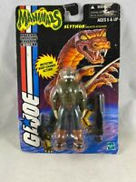 2000 Hasbro GI JOE Manimals Slythor Sealed on Worn Card