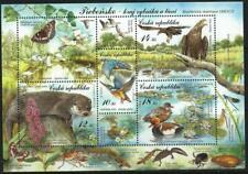 CZECH REPUBLIC - 2016 'NATURE PROTECTION' Miniature Sheet MNH [B5759]
