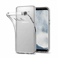 """PT Case Cover Gel Silicone Transparent Clear For Samsung Galaxy S8 Plus S8+ 6.2"""""""