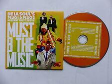 CD  single DE LA SOUL ' s PLUG1 & PLUG2 present FIRST SERVE Must b the music