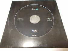 CREED - HIDE - UNIQUE OZ 1 TRK PROMO CD - DIE CUT CASE - LIKE NEW - NU METAL