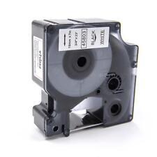 Cassette de cinta 19mm N/B para Dymo Labelpoint 300, LabelPoint 350