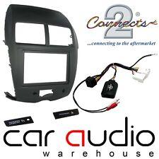 Mitsubishi ASX 2010 - 2014 Stereo Fascia & Steering Wheel Interface Kit CTKMT02