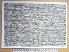 "OO/HO gauge (1:76 scale) ""stone courses"" -  paper - A4 sheet ( 210 x 297 mm)"