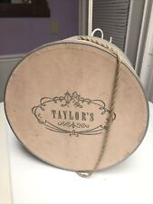 New listing Old Vintage O'Neil'S Taylor's Hat Box Department Store Advertising