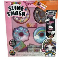 Poopsie Slime Smash Sprinkle Spree with Crunchy Glitter Slime & 4 Donut Cases