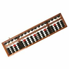 17 Column Wooden Soroban Standard Abacus Chinese Calculator Math Learning Tool