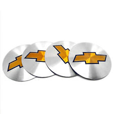 4x 56MM 2.2'' Chevrolet Car Wheel Center Hub Cap Emblem Badge Decal Sticker