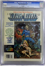 MARVEL SUPER SPECIAL #10 CGC 9.8 STAR-LORD COVER WHITE PAGES BRONZE AGE
