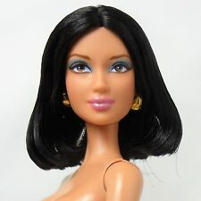 Barbie Basics Model 05 Collection 003 Raven hair Brown eyes Nude