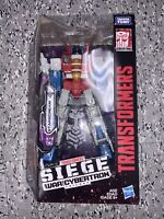 Transformers Siege War For Cybertron STARSCREAM Complete Voyager Wfc New 🐢🐢🐢