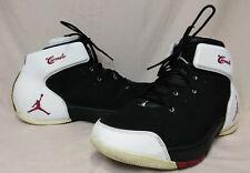 Nike Air Jordan Melo 1.5 Size 11.5 US Men's Black/White Basketball Sneakers